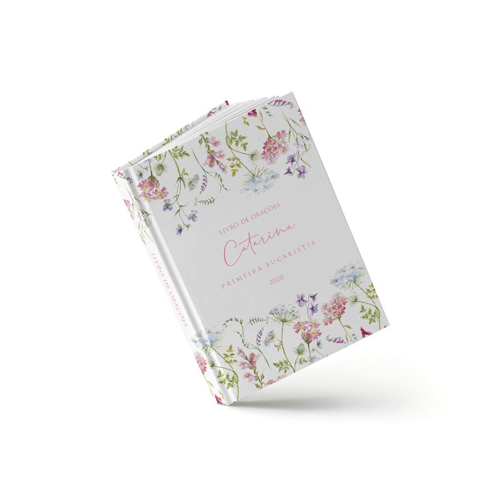 Livro Eucaristia - Flores do Campo Rosa - Sweetcards