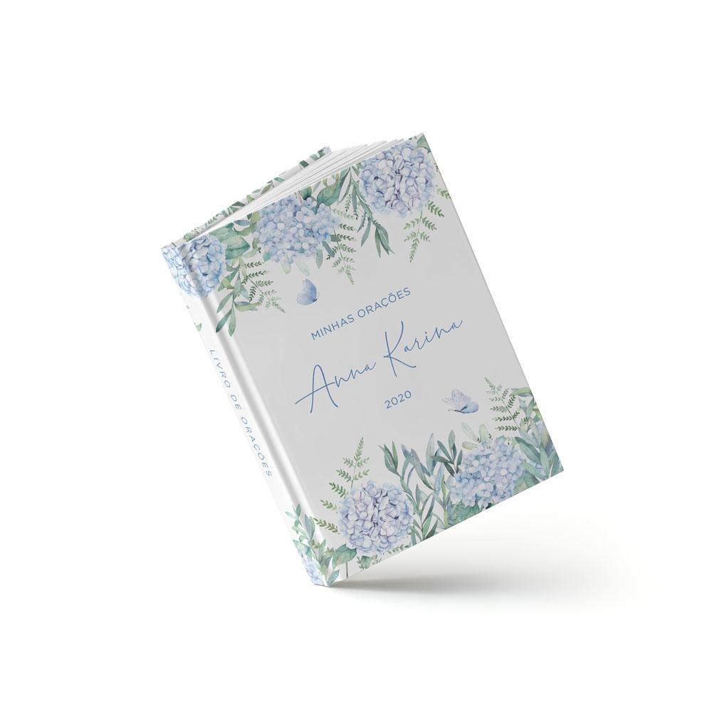 Livro Primeira Eucaristia - Hortênsia Azul - Sweetcards