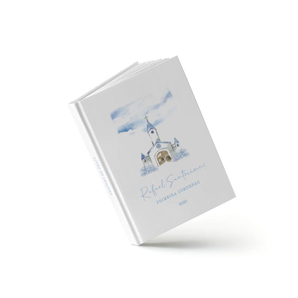 Livro Primeira Eucaristia - Igreja Azul - Sweetcards