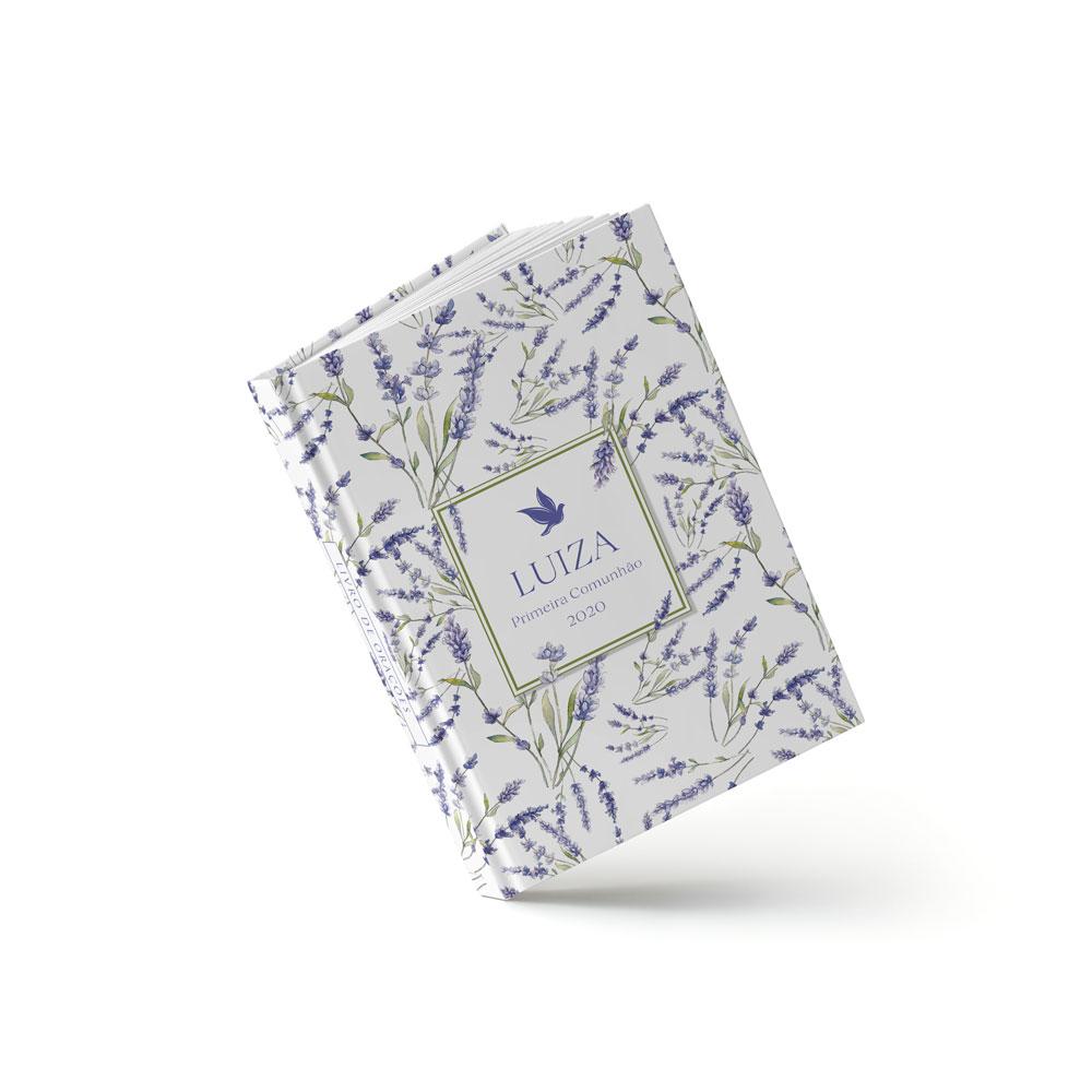 Livro Primeira Eucaristia - Lavanda - Sweetcards