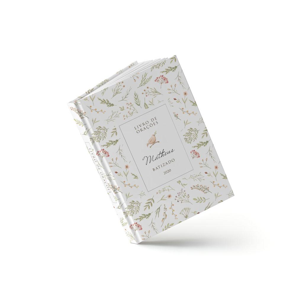 Livro Batizado - Pássaro - Sweetcards