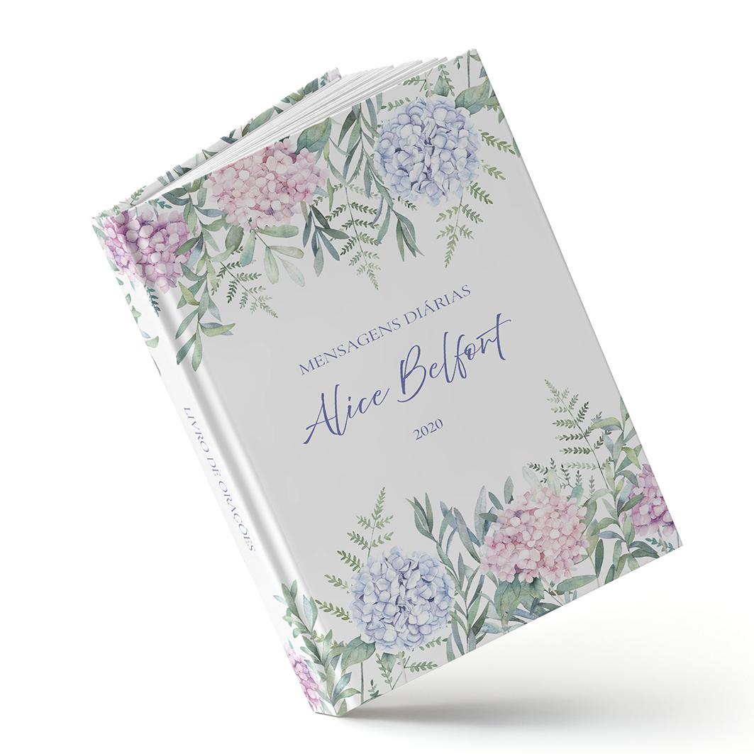 Livro de Orações - Hortência Rosa - Sweetcards