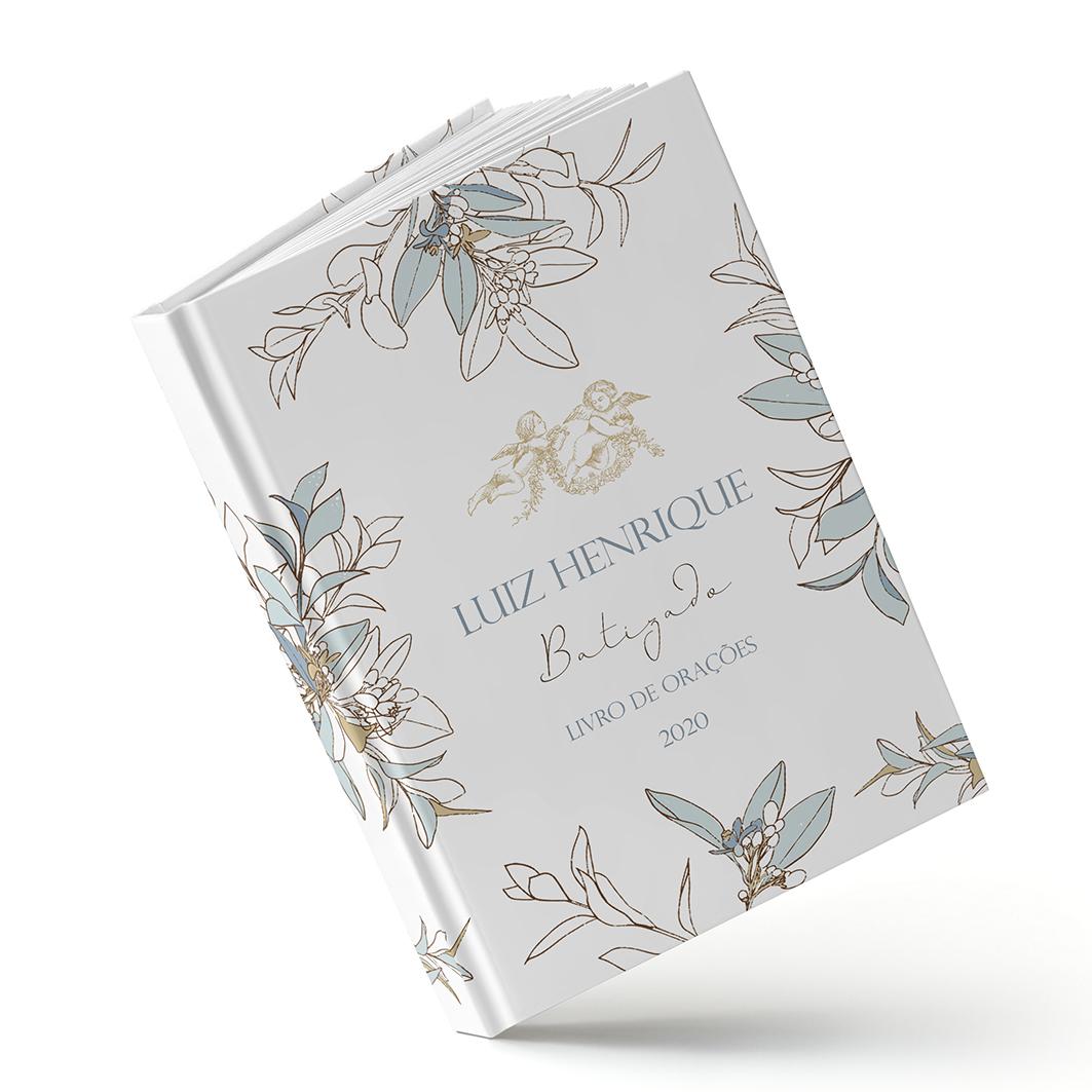 Batizado - Royal Azul - Sweetcards