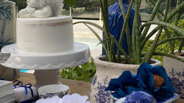 Decoração Batizado azulejo portugues