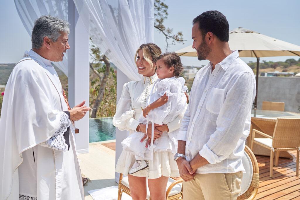 batizado ao ar livre